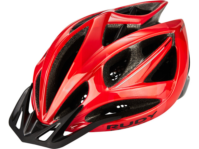 Rudy Project Airstorm MTB Casque, red/black camo shiny